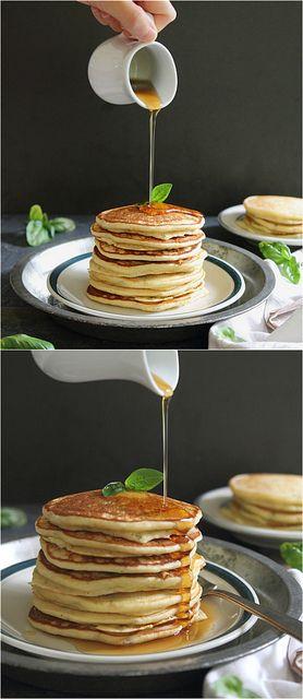 Gluten Free Orange Basil Ricotta PancakesOrange Basil, Ricotta Pancakes, Basil Pancakes, Pancakes Glutenfree, Breakfast, Eating, Free Orange, Gluten Free, Basil Ricotta