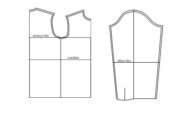 Mens shirt block drafting instructions(downloadable pdf too.) Whoopie!