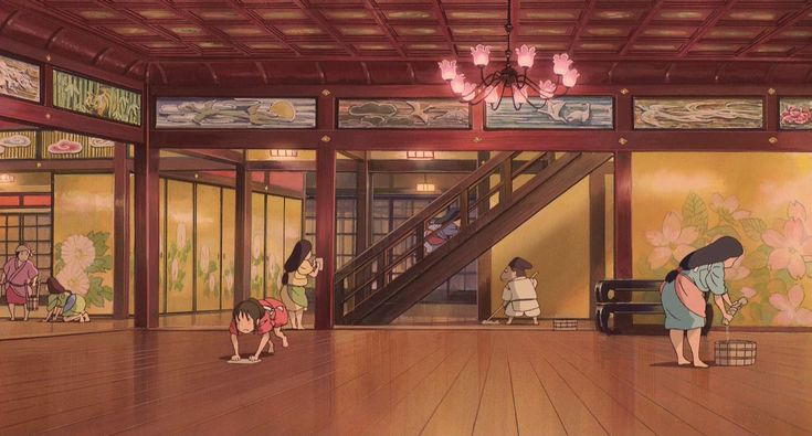 spirited away yubaba room - Google Search