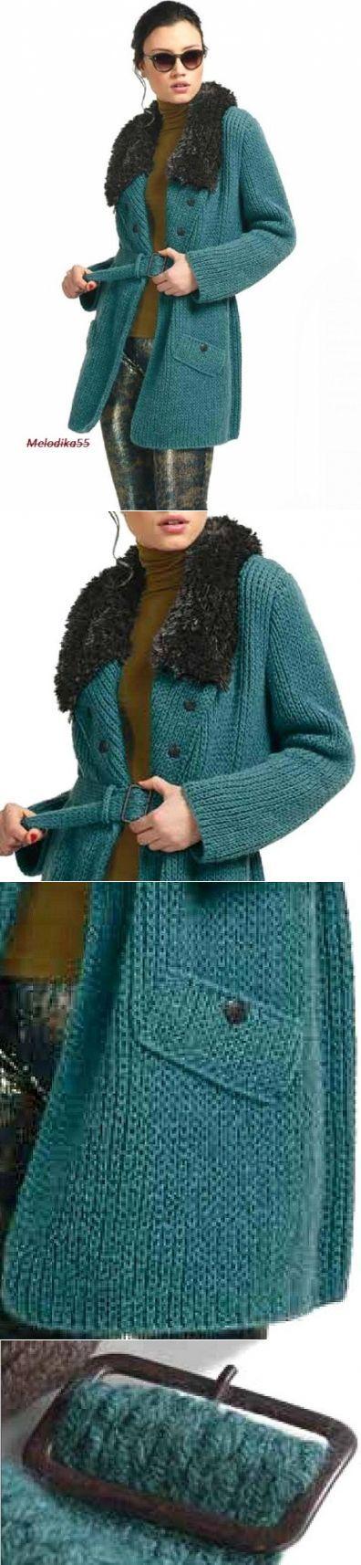 Пальто. | Вязание: Для женщин | Постила