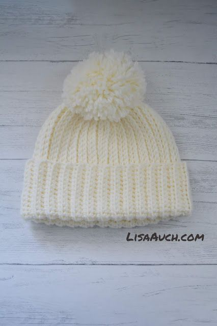 Looks like Knit But its Crochet Warm Cosy Winter Hat (FREE Pattern) – Daphne Cortes