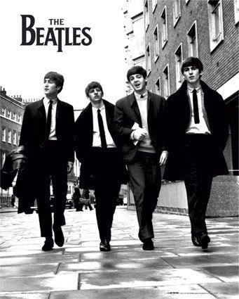 Beatles: Music, The Beatles, Band, Thebeatles, Picture-Black Posters, Paul Mccartney, Beatles Posters, Fab, People