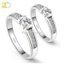 cincin kawin sepasang perak murah