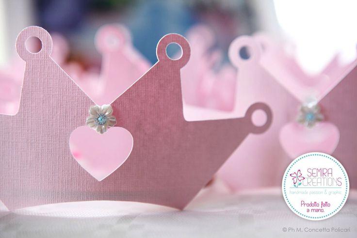 Le tiare realizzate per le piccole principesse