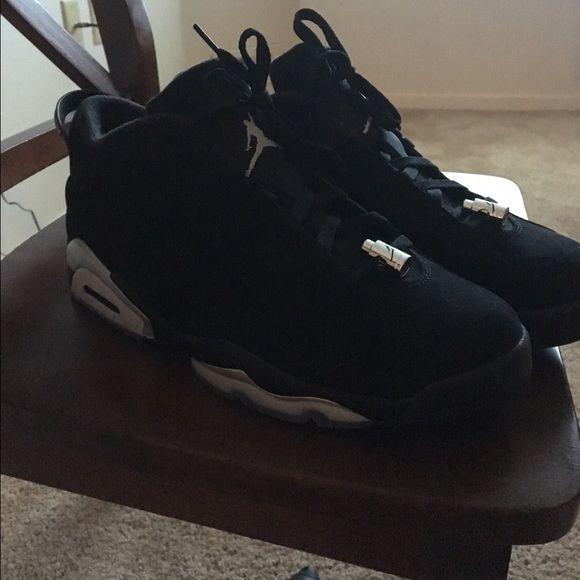 Jordan's low top sixs Black white and gray Jordan Shoes Sneakers
