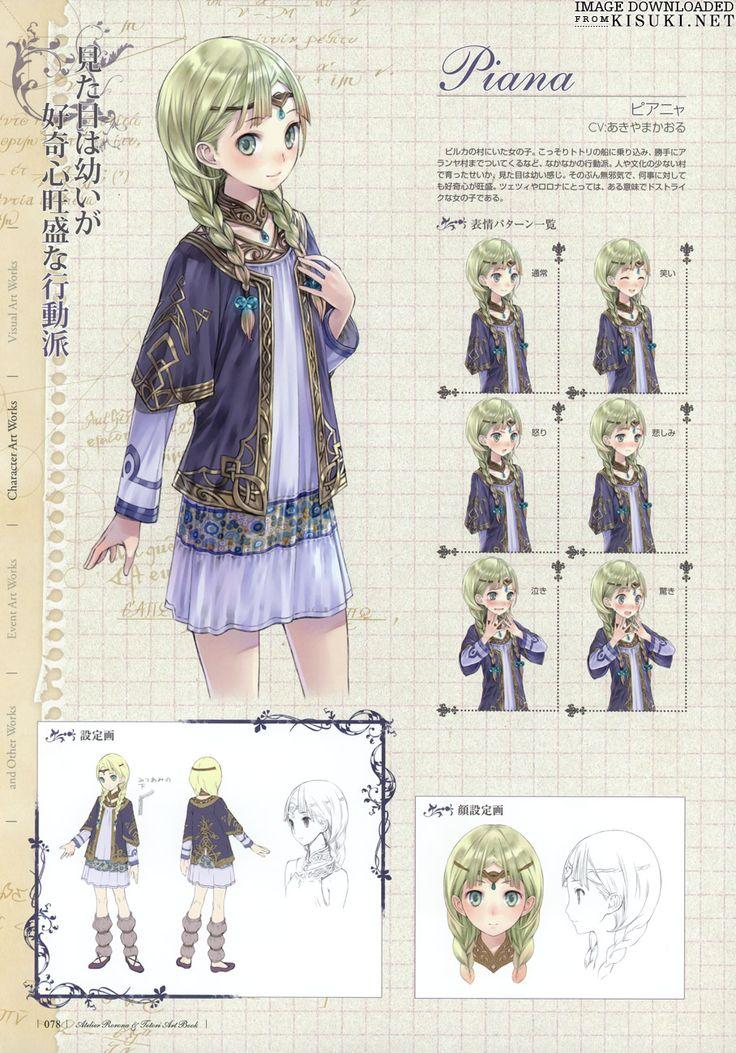 Artbooks » Atelier Rorona Totori Art Book » Item 79 @ Kisuki.net