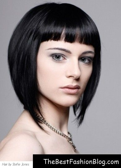 i kinda like the short bangs and choppy sides... by herminia