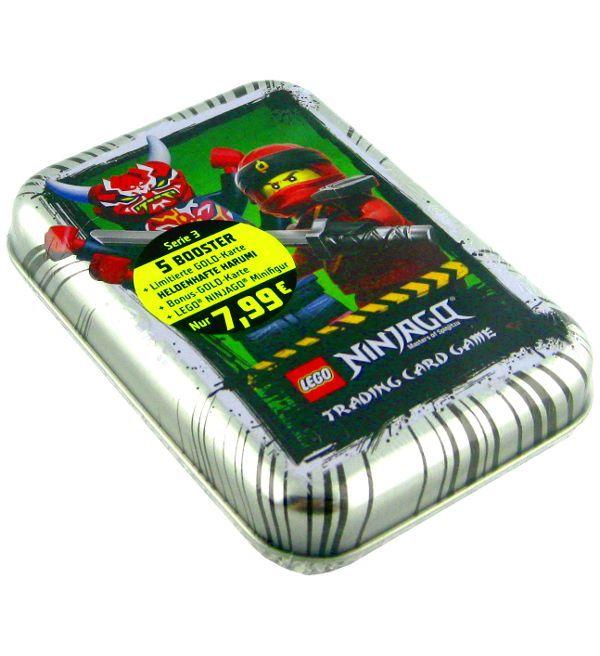 Lego Ninjago Serie 3 Trading Cards Mini Tin Silber Lego Ninjago Lego Silber