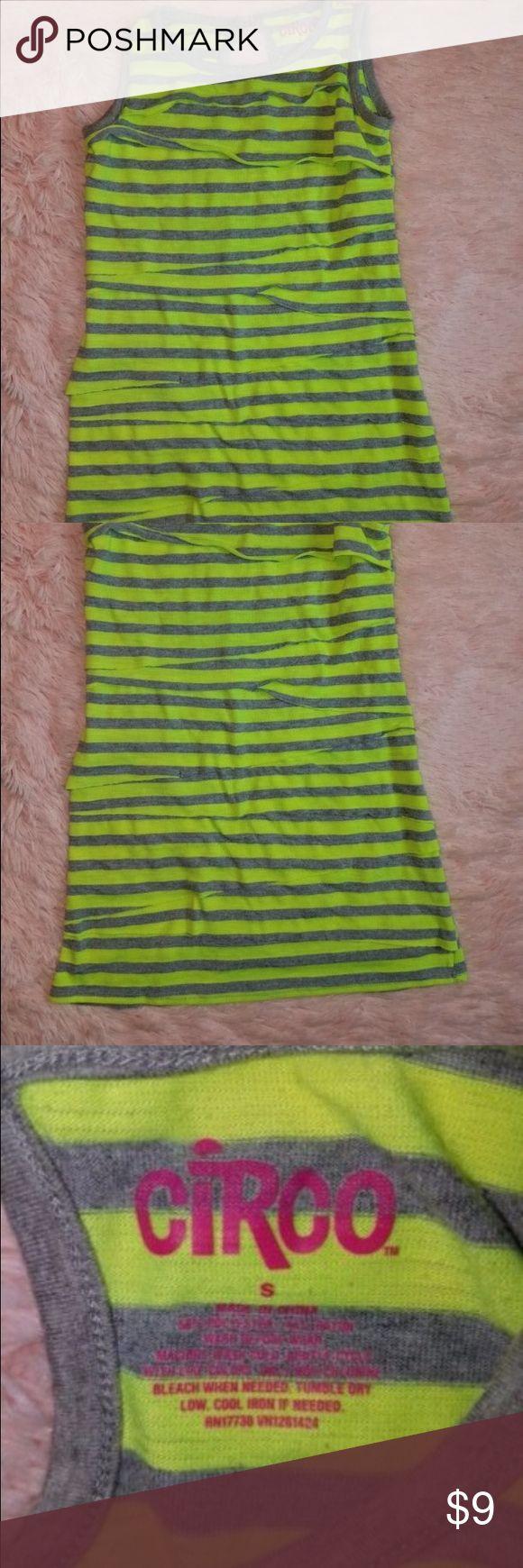 Circo Girls Size Small Lime Green Tank Top Shirt Size Small.  Inv-P Circo Shirts & Tops Tank Tops