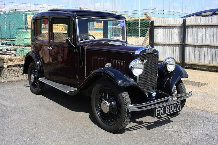 FK 6007 1934 Austin 10-4 Chrome Radiator Deluxe Saloon