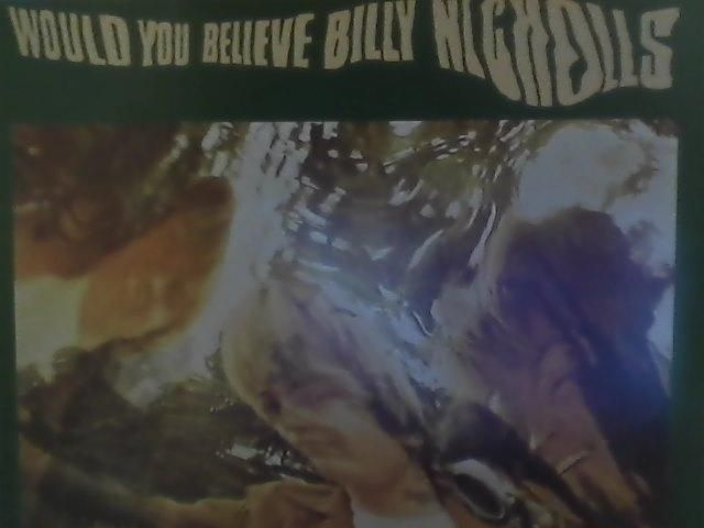 私が所持しているビリー・ニコルズのウッド・ユー・ビリーヴのアナログ盤は、アナログ1000枚限定再発が売りのテンス・プラネット盤です。イギリスの著名なディーラーの方がオーナーを務めているようですが、最近、名前を全く聞かなくなりましたね。