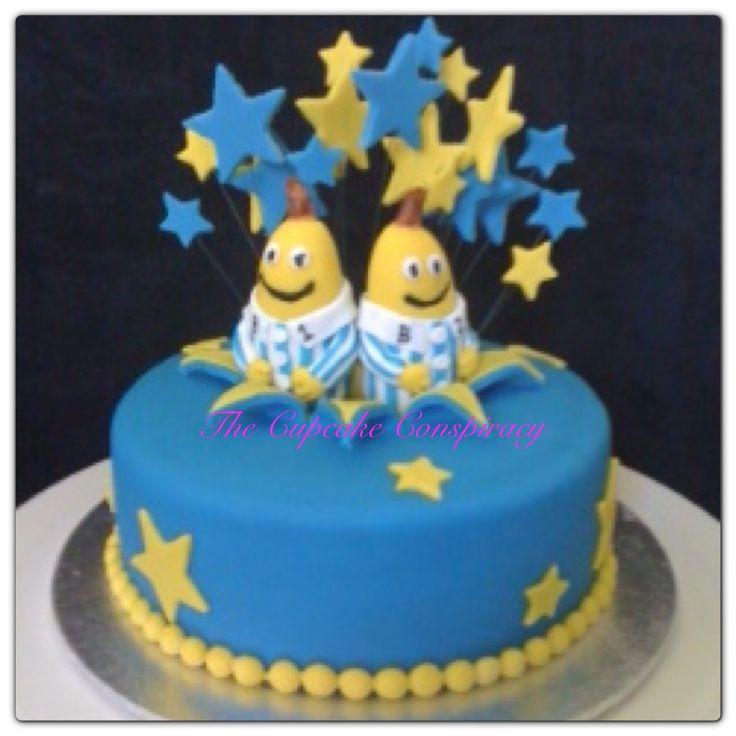 Bananas in Pyjamas cake :)