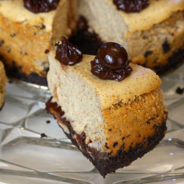 Liv Life: Cappuccino Fudge Cheesecake