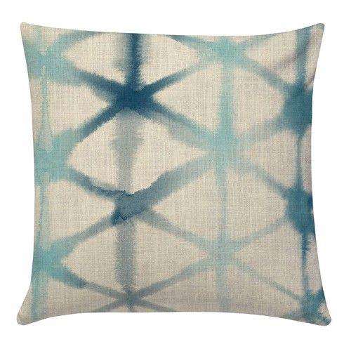 Morph in Prussian Blue Cushion Cover