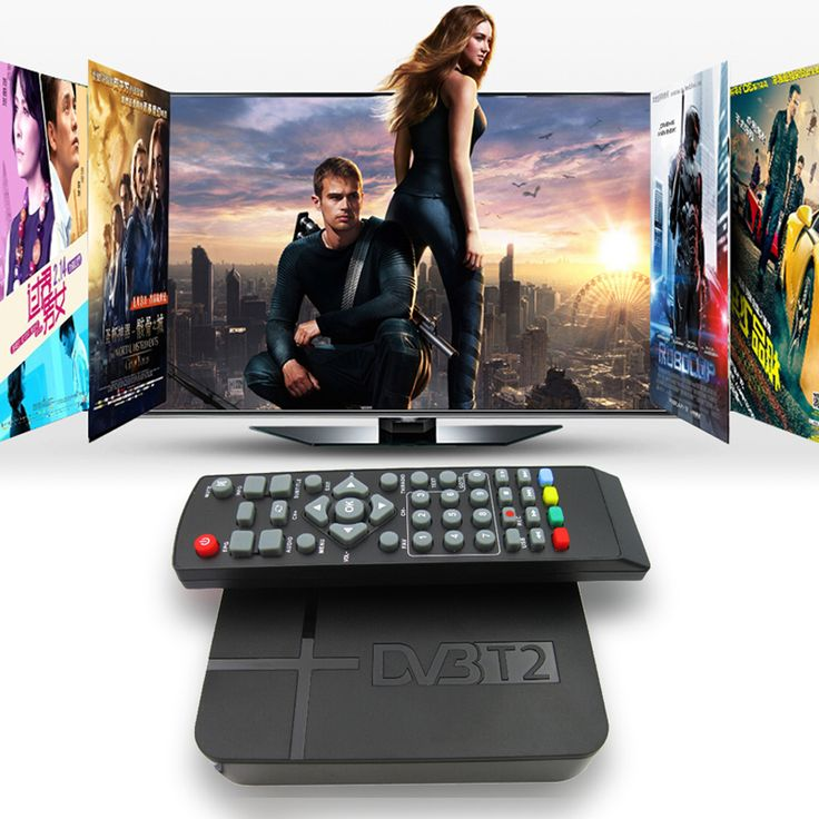 Digital DVB-T2 Receiver DVB-T STB TV Box HD 1080P K2 Video Terrestrial MPEG4 PVR Receiver + Remote Control + AV Cable Support 3D
