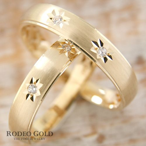 Gold engagement rings TCR75345