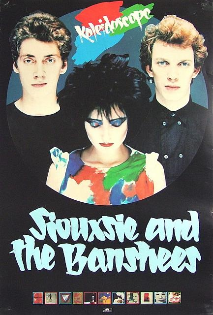 SIOUXSIE AND THE BANSHEES - KALEIDOSCOPE (1980). Saw this tour and have no recollection of them at Heineken Festival in 1995(?) also their last tour in the late 90s'.