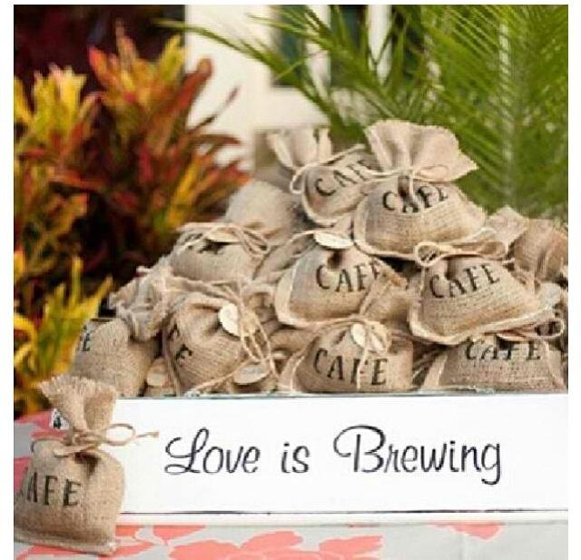 Wedding giveaways #coffee #love