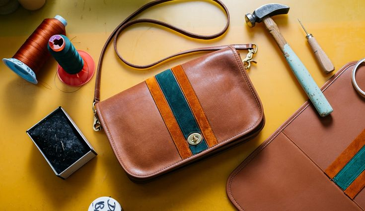 Coach Vintage, an exclusive new collaboration, is bringing back vintage bags from the '70s and '80s, each updated with a modern twist.