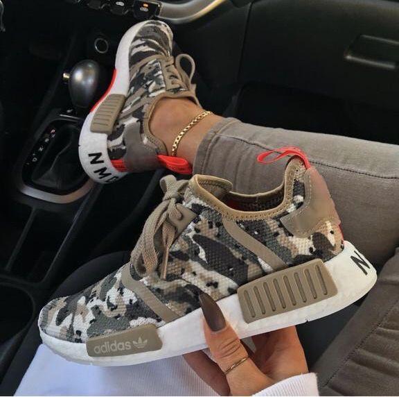 adidas camo black sneakers