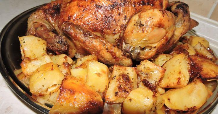 #Cook-Kouk by #Koukouzelis #market: Λαχταριστό #κοτόπουλο στον φούρνο με πατάτες #VIDEO