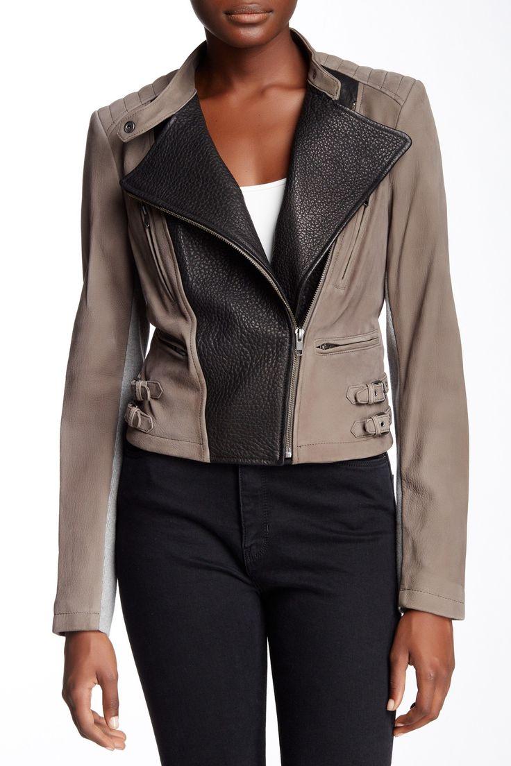 Genuine Leather Jacket by Yigal Azrouel on @HauteLook