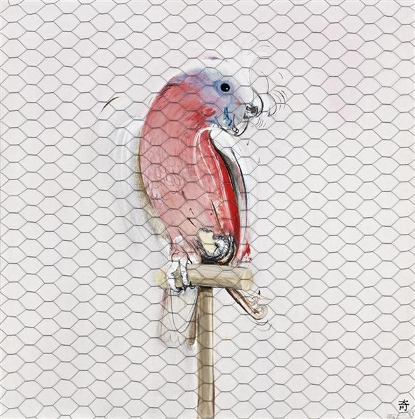 Galah by Brett Whiteley...