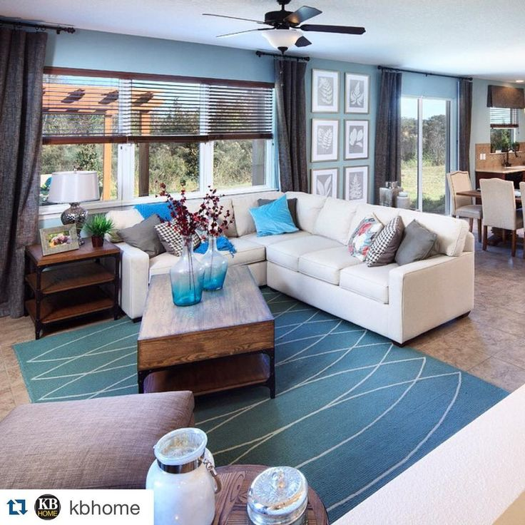 #Repost @kbhome with @repostapp. ・・・ If you were coming #home to this tonight... It'd give a whole new meaning to the #Monday Blues! 💙 Would you use these cool tones for summer? #kborlando #tiletuesday #loveit #flooring