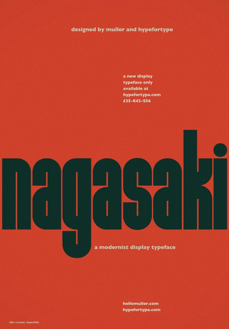 Nagasaki | typetoken®