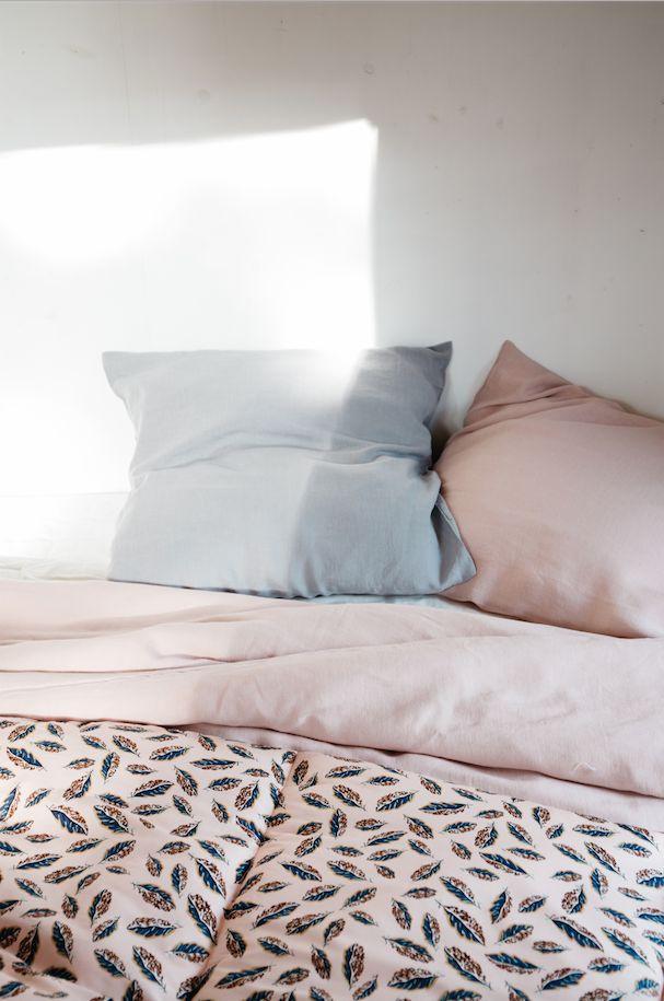 Linge de lit en lin par Lab_Boutique