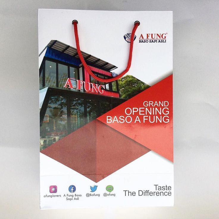 Sukses untuk acara grand opening Baso Afung @afunglovers
