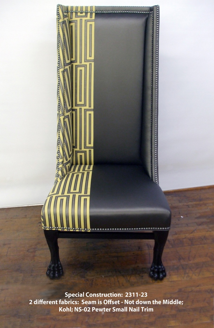 2311 23 Venetto Chair   Special Construction Made By Hickory Chair.