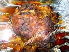 Ψητό κρέας πακέτο στο φούρνο με γεύση γύρο