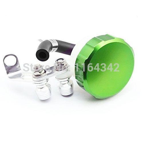 13.29$  Watch now - http://alik4w.shopchina.info/go.php?t=32326973355 - Green Motorcycle Brake Fluid Reservoir Tank Oil Fluid Cup For Suzuki Yamaha R6S Kawasaki Z1000SX/Ninja  #bestbuy
