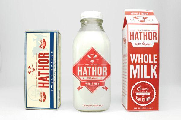 Hathor Creamery by Michael Vilayvong, via Behance