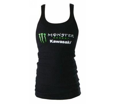 monster energy women's clothing   Women's Monster Energy Kawasaki Sparkle Logo Tank. Monster Energy ...