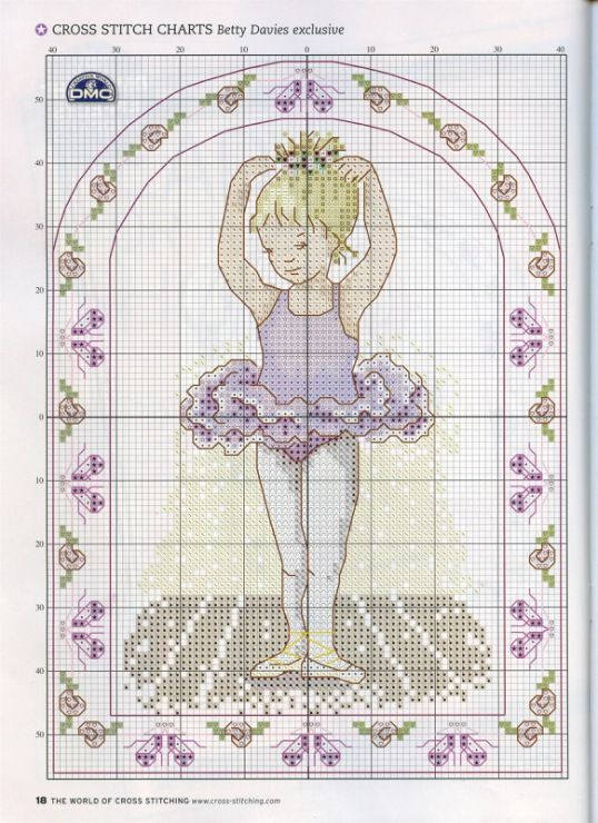 Gallery.ru / Фото #11 - The world of cross stitching 107 февраль 2006 - tymannost