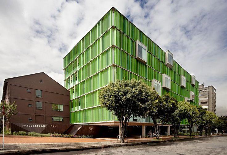 Arquitectura: Universidad EAN. Por: Daniel Bonilla Arquitectos.