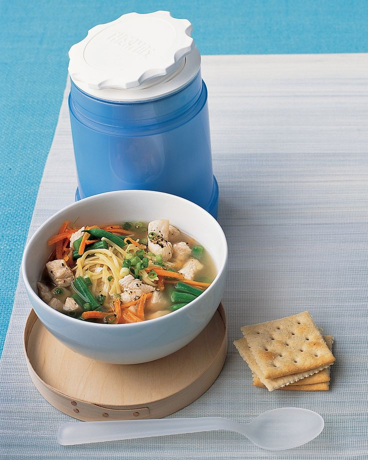 Tote this easy-to-make soup off to lunch and don't forget the crackers.