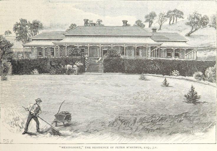 """Meningoort"" The Residence of Peter M'Arthur, Esq., J.P."