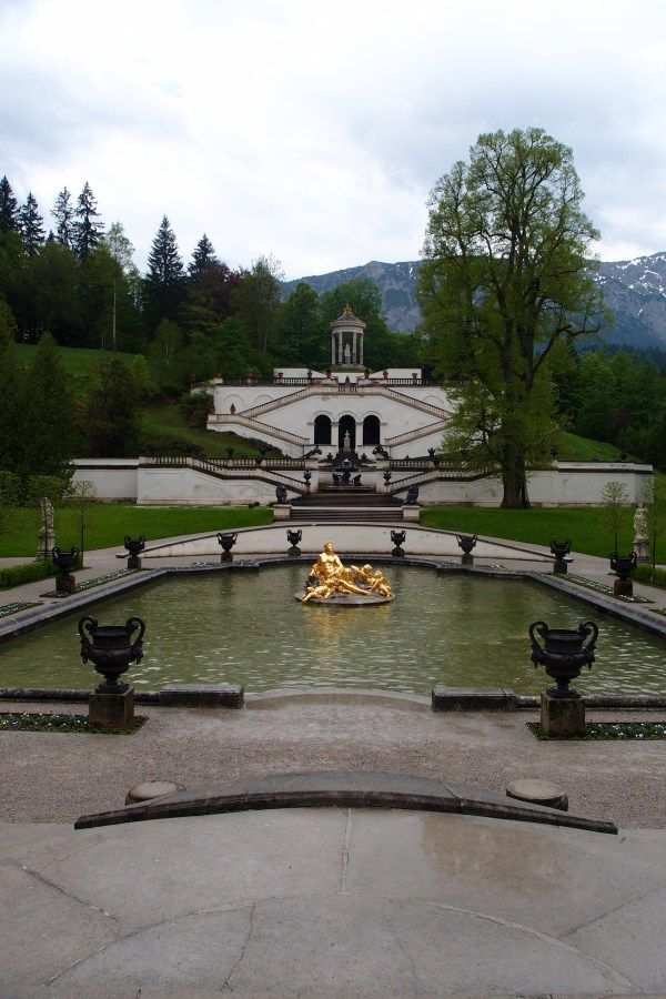 #Linderhof #Palace grounds #Germany