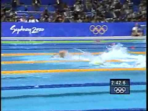 Sydney Olympics 4 x 100m Mens Relay: best relay ever until the 2008 effort from the US men. Ian Thorpe vs. Gary Hall Jr. on final leg is epic