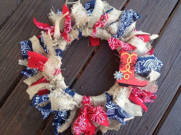 44 Best Images About Western Themed Crafts On Pinterest Western Boots Cowboys Wreath And