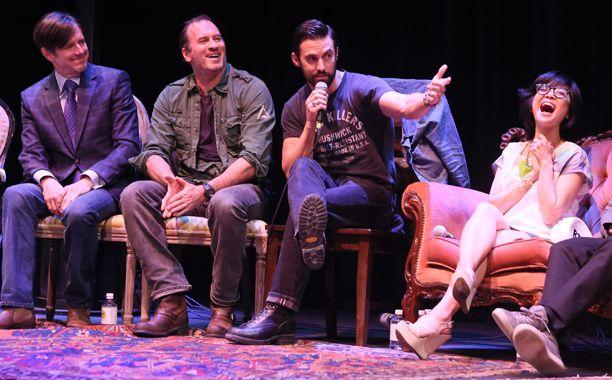 'Gilmore Girls' Reunion at ATX Television Festival: Pics From the Panel | Daniel Palladino, Scott Patterson, Milo Ventimiglia, Keiko Agena | EW.com