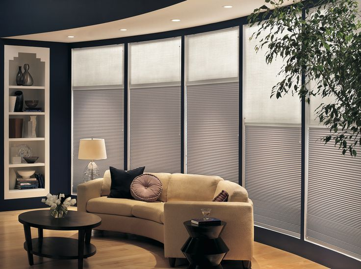 Day And Night Cellular Shades Give You An Option For More Light During The
