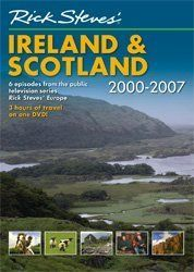 """Rick Steves' Ireland and Scotland, 2000-2007:   This is the only DVD that includes all six half-hour """"Rick Steves' Europe"""" TV shows on Ireland and Scotland, produced from 2000 to 2007: Dublin, The Best of South Ireland, The Best of West Ireland, Belfast and the Best of Northern Ireland, Scotland's Islands and Highlands, and Edinburgh. The running time is three hours. Filmed on location by America's most popular travel guidebook writer, Rick Steves' DVDs offer one great escape after ano..."""