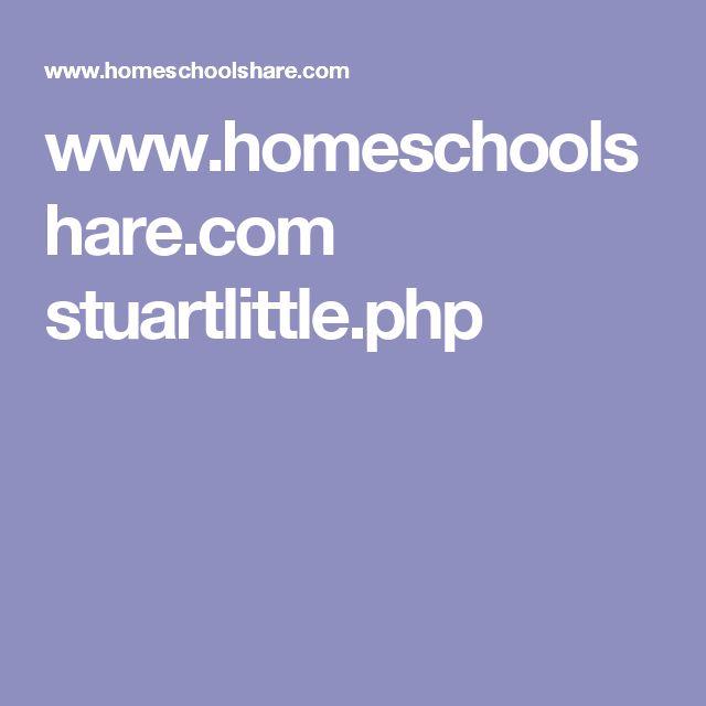 www.homeschoolshare.com stuartlittle.php