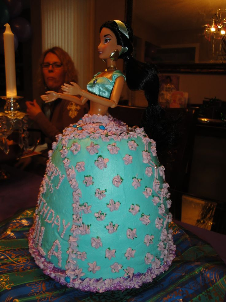 17 Best Images About Jasmine Doll Cake On Pinterest