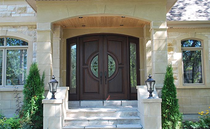 Wooden Front door . Get a unique masterpiece and many design possibilities, like nowhere else.