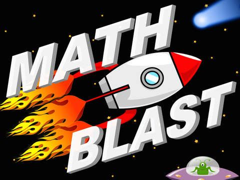 Math Blast - fun game for practicing basic Math skills.